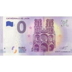 Billet souvenir - Cathédrale de Laon - 2018-1