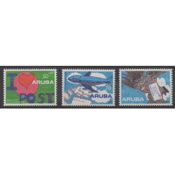 Aruba (Netherlands Antilles) - 1992 - Nb 113/115 - Postal Service - Children's drawings