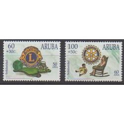 Aruba - 1998 - No 219/220 - Rotary ou Lions club
