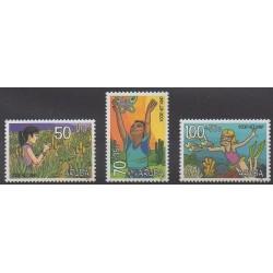 Aruba - 1997 - No 212/214 - Enfance
