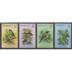Vanuatu - 1981 - Nb 620/623 - Birds