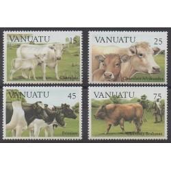 Vanuatu - 1984 - No 695/698 - Mammifères