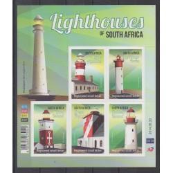 Afrique du Sud - 2014 - No 1833/1837 - Phares