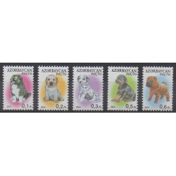 Azerbaijan - 2014 - Nb 880/884 - Dogs