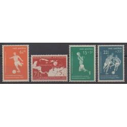 Netherlands Antilles - 1957 - Nb 253/256 - Football