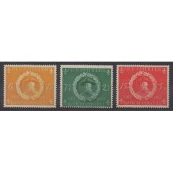 Netherlands Antilles - 1957 - Nb 246/248 - Scouts