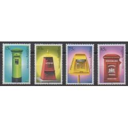 Antilles néerlandaises - 1998 - No 1138/1141 - Service postal