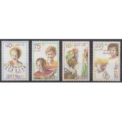 Antilles néerlandaises - 1998 - No 1153/1156 - Enfance