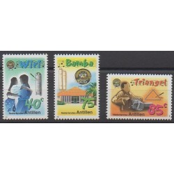 Netherlands Antilles - 1999 - Nb 1166/1168 - Music