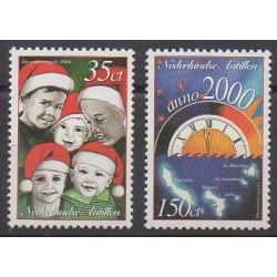 Antilles néerlandaises - 1999 - No 1191/1192 - Noël