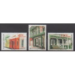 Netherlands Antilles - 1999 - Nb 1185/1187 - Architecture