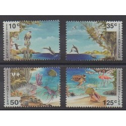 Netherlands Antilles - 1994 - Nb 987/990 - Animals - Philately