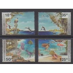 Antilles néerlandaises - 1994 - No 987/990 - Animaux - Philatélie