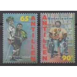 Netherlands Antilles - 1995 - Nb 998/999