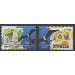 Antilles néerlandaises - 1995 - No 1009/1010 - Histoire