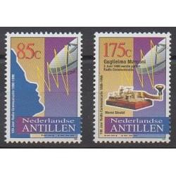 Netherlands Antilles - 1996 - Nb 1036/1037 - Telecommunications