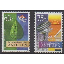 Antilles néerlandaises - 1996 - No 1034/1035 - Santé ou Croix-Rouge