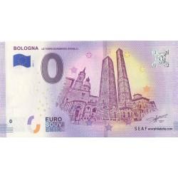 Euro banknote memory - Bologna - Le Torri Garisenda Asinelli - 2018-1