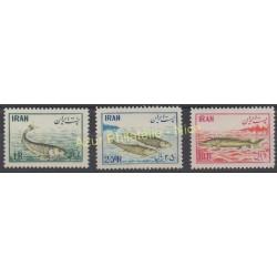 Iran - 1954 - No 798/799 - 802 - Poissons