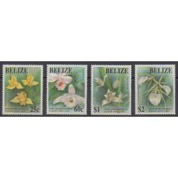 Belize - 1993 - No 996/999 - Fleurs