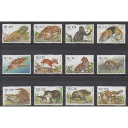 Belize - 2000 - No 1118/1129 - Animaux