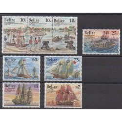 Belize - 1998 - No 1094/1101 - Histoire militaire