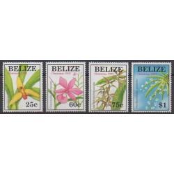 Belize - 1997 - No 1087/1090 - Orchidées