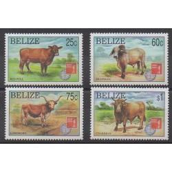 Belize - 1997 - No 1075/1078 - Mammifères - Philatélie