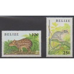 Belize - 1989 - No 913/913A - Mammifères