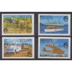 Belize - 1988 - No 900/903 - Santé ou Croix-Rouge
