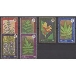 Belize - 1978 - No 403/408 - Fleurs