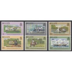 Belize - 1979 - No 409/414 - Service postal