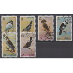 Belize - 1980 - Nb 481/486 - Birds - Used