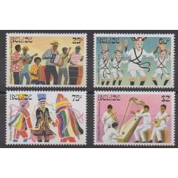 Belize - 1993 - No 1005/1008 - Musique - Noël