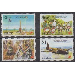 Belize - 1995 - No 1035/1038 - Seconde Guerre Mondiale