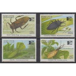 Belize - 1996 - No 1055/1058 - Insectes - Philatélie