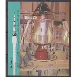 Belize - 1989 - No BF86 - Espace