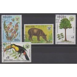 Belize - 1981 - No 562/565 - Oblitérés