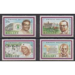 Belize - 1992 - No 978/981 - Célébrités