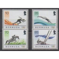 Bermudes - 2008 - No 961/964 - Jeux Olympiques d'été