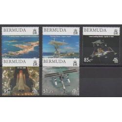 Bermuda - 2009 - Nb 973/977 - Astronomy