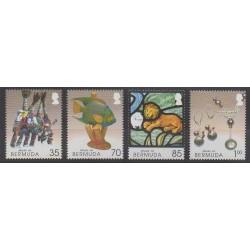 Bermudes - 2005 - No 895/898 - Artisanat ou métiers