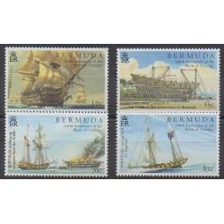 Bermudes - 2005 - No 899/902 - Histoire militaire - Navigation