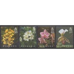 Bermuda - 2004 - Nb 886/889 - Orchids
