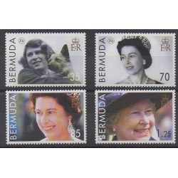 Bermuda - 2006 - Nb 916/919 - Royalty