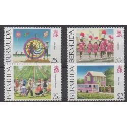 Bermuda - 1995 - Nb 690/693 - Folklore