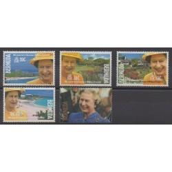 Bermudes - 1992 - No 610/614 - Royauté - Principauté