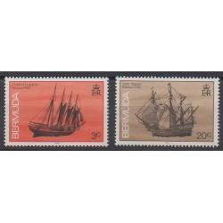 Bermuda - 1990 - Nb 586/587 - Boats