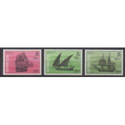 Bermuda - 1990 - Nb 583/585 - Boats