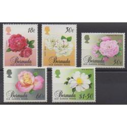 Bermudes - 1989 - No 549/553 - Roses